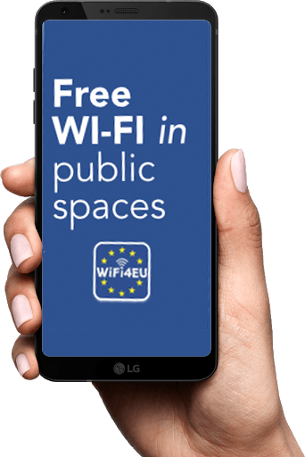 free wi-fi in public spaces